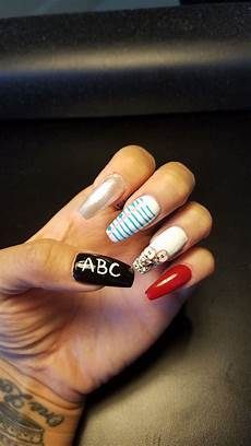 back to school nail design school nails back to school