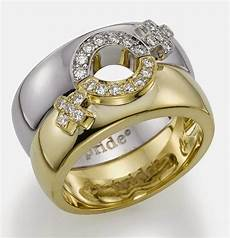 lesbian wedding ring sets australia white and gold model