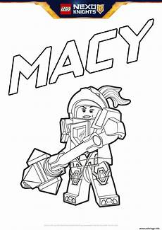Nexo Knights Ausmalbilder Macy Coloriage Lego Nexo Knights Macy Dessin