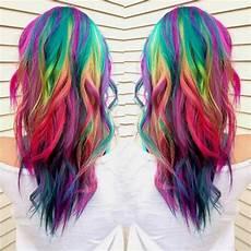 bright hair colors on pinterest bright hair rainbow hair and 16 rainbow hair color ideas you ll go crazy over