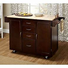 Kitchen Island Cart With Cabinets by Contemporary Country Style Mobile Kitchen Island Rolling
