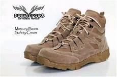 jual sepatu boots predator tactical army gunung safety low delta tracking proyek pria di lapak