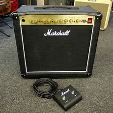 Marshall Dsl15c 15 W Valve Combo W Foot Switch 2nd