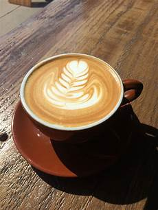 Gambar Kafe Kedai Kopi Pagi Busa Latte Cappuccino