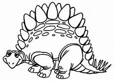 Gambar Mewarnai Dinosaurus Lucu Murid 17