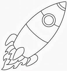 rakete rakete ausmalen weltraum