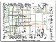 honda cb125tde superdream colour wiring diagram 1979 honda cx500d wiring diagram color