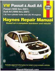 car repair manual download 2001 audi a4 electronic throttle control haynes vw passat audi a4 1996 2001 auto repair manual