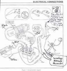kawasaki teryx warn winch and wireless remote install