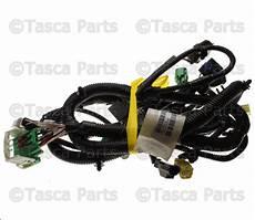 2010 jeep jk wiring harness new oem headlight wiring harness 2009 2010 jeep wrangler w v6 engine 68042581aa ebay