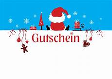 weihnachtsgutschein vordruck gutscheinvorlagen zum