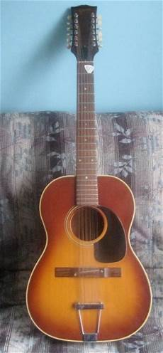 Gibson B 25 12 Acoustic 12 String Guitar 1960s Vintage