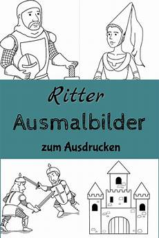 Ausmalbild Ritterburg Ritter Ausmalbilder Kostenlose Malvorlagen Hier