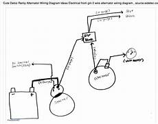 2wire alternator diagram yamaha delco two wire alternator connection issue e type jag forums