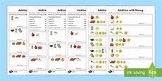 money worksheets junior infants 2199 euros addition with money worksheet worksheet