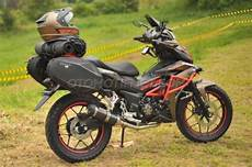 Supra Gtr 150 Modif Touring by Foto Modifikasi Honda Supra Gtr150 Grand Touring Adventure