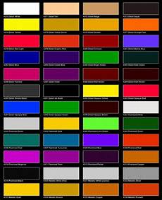 auto air colors color chart page 1 car painting car paint colors paint color chart