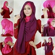 Cara Memakai Jilbab Modern Simple Syar I Cara Memakai