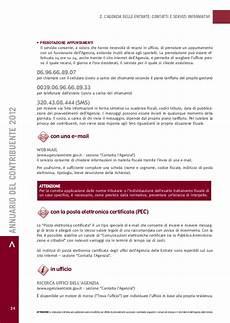 appuntamento ufficio delle entrate l annuario contribuente 2012 studio ettore colella