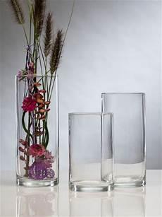 Glasvase Vase Glas Blumenvase Tischvase 30 Cm Bodenvase