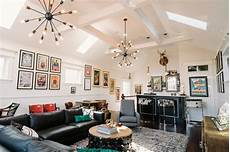 wohnzimmer bar vintage mod living room with bar area 2014 hgtv