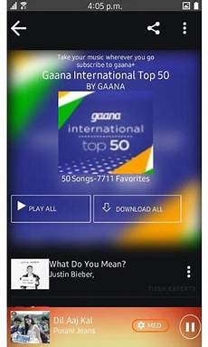 application gaana music streaming app now available for samsung z1 z3 iot gadgets