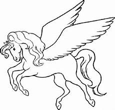 Malvorlagen Wings Unicorn Einhorn Ausmalbilder Zum Ausdrucken