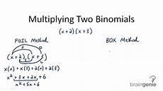 multiplying binomials mentally ck 12 foundation