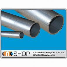 aluminium rundrohr au 223 endurchmesser 50 mm wandst 228 rke 5 0