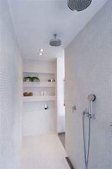 bagni con mosaico idee doccia in muratura con mosaico bagno 100 idee per