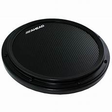 marching snare practice pad ahead 14 quot black s hoop marching practice pad with snare sound ahshp b