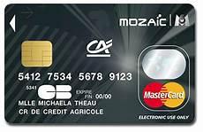 Credit Bank Personnel Carte Mozaic Credit Agricole