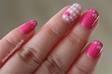 valentines day nails pink hearts chronicles of a beauty