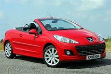 peugeot cabrio 2019 peugeot 207 cc from 2007 used prices parkers