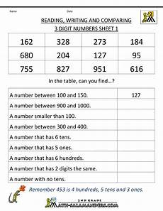 place value writing numbers worksheets 5221 1000 images about 2nd grade on