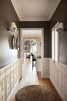 i want to paint the hallway a dark colour almost black to shorten it and draw the eyes out to