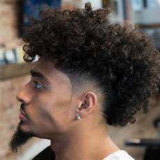 curly mohawk hairstyles types of fade haircuts men s hairstyle trends