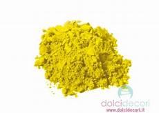 tartrazina alimenti colorante alimentare in polvere giallo per dolci torte e