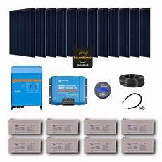 kit solaire 3360w autonome mono convertisseur 230v 5000va
