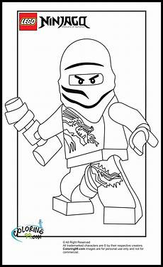 Malvorlagen Lego Ninjago Zane Lego Ninjago Zane Coloring Pages Team Colors