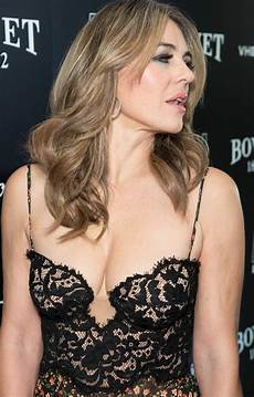 elizabeth hurley at brilliant is beautiful gala at