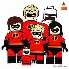 Malvorlagen Lego Incredibles Lego The Incredibles Coloring Pages Colorpaints Co