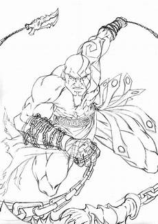 god of war printable coloring pages dibujos