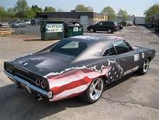 Patriotic American Cars With Flag Paint Jobs  Classic