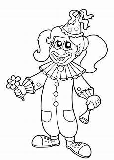 Clown Malvorlagen Ausdrucken Lassen 50 Faschingsbilder Zum Ausmalen F 252 R Kinder Kostenlos