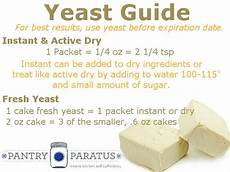 yeast what is it what should i use pantry paratus