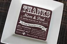 Thank You Gifts For Parents At Your Wedding