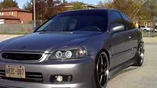 Honda Civic 2000 - nvs whips 2000 honda civic ek 360 walk around look