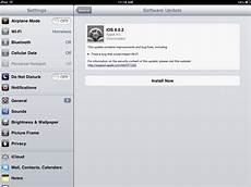 how to update ipad os software when you don t see software update in the settings app ipad insight