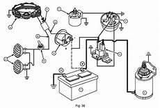 briggs 12 i c starter and battery wiring diagram outdoorking repair forum